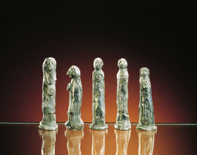 SENZA TITOLO - argento 800 fuso a cera persa
